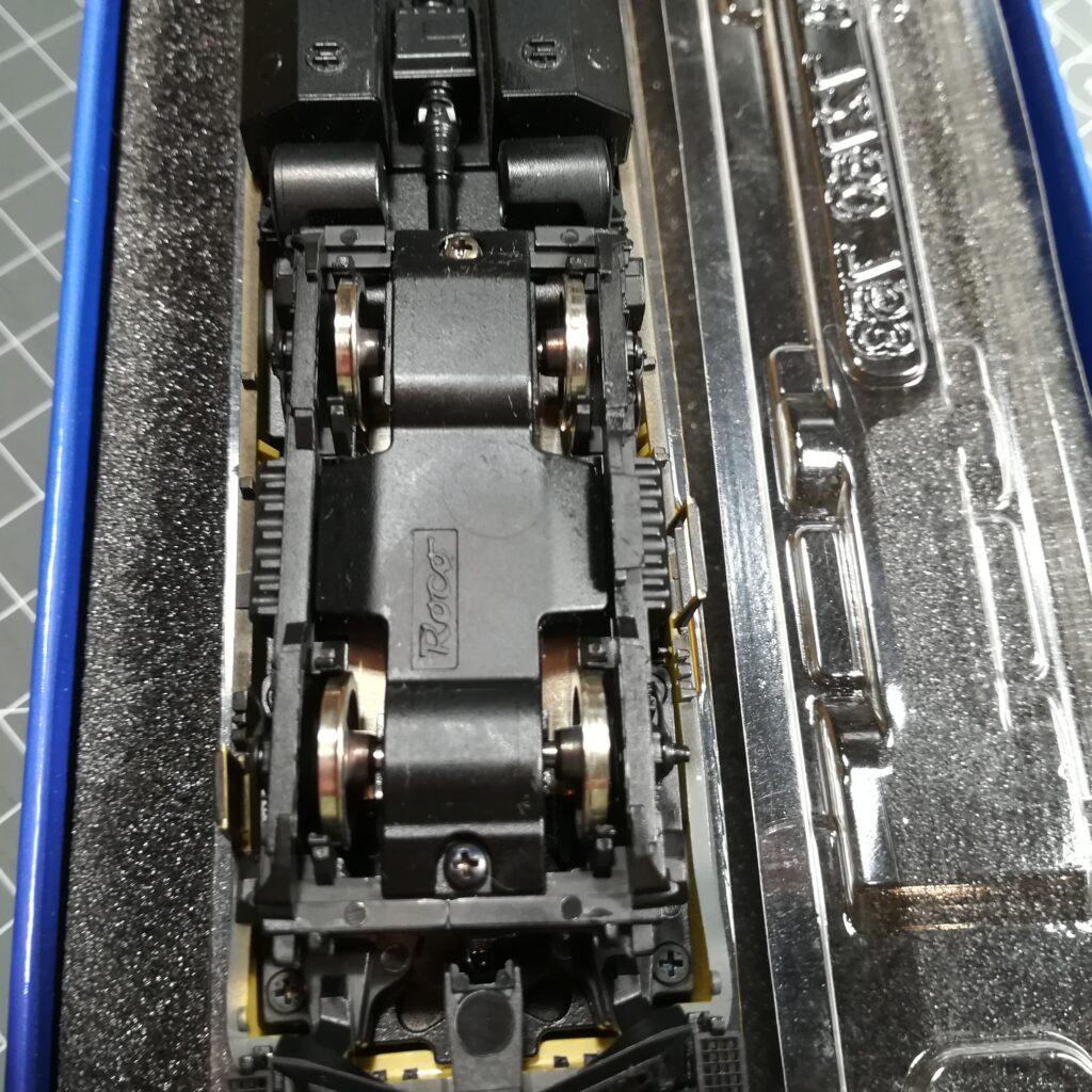 Neusilber-Radsätze für die Roco 218